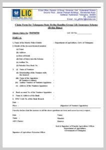 TS Rythu Bandhu Scheme PDF