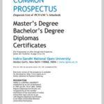 IGNOU Courses List 2021 PDF Download ignou.ac.in