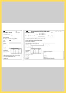 SBI RTGS Form PDF